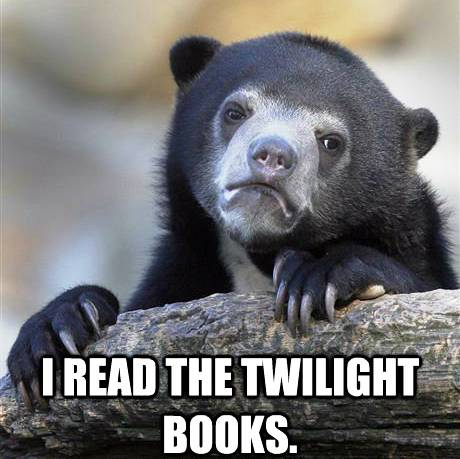 Confession Bears Meme Twilight