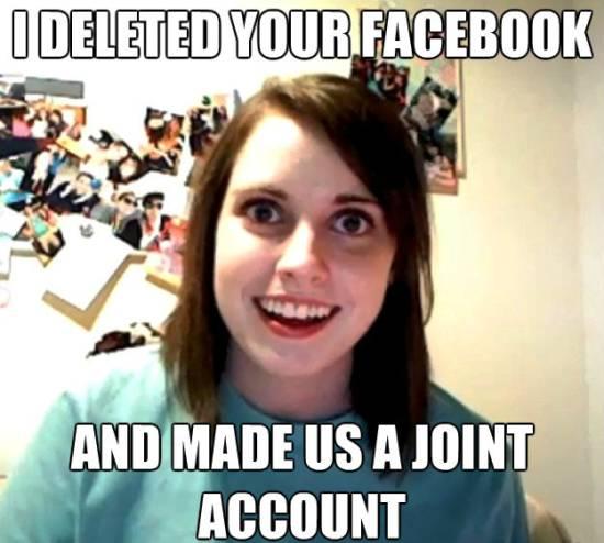 Girlfriend Wants Joint Facebook Account