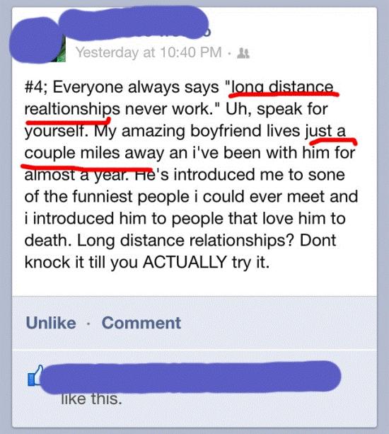 Funny Stupid Facebook Statuses