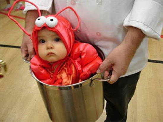 Kid As Lobster Halloween Costumes