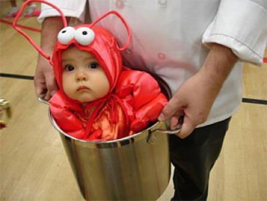 Kid As Lobster Halloween Costumes