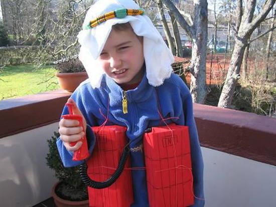 Terrorist Kid Halloween Costumes