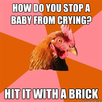 Anti-Joke Chicken Meme Baby