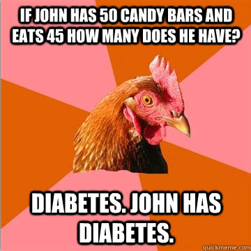 Anti Joke Chicken Diabetes