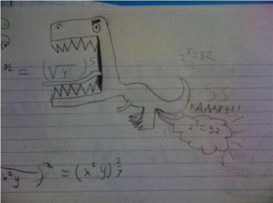 Exam Answers Dino Fart