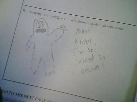 bad-exam-answers-scared-bear