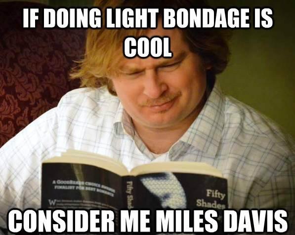 Curious Male Likes Light Bondage