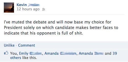 Debate Choices