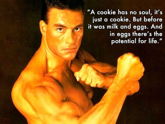Jean Claude Van Damme Cookies