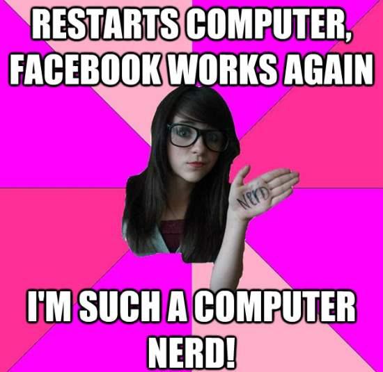 Scenester Nerd Meme Computer Nerd