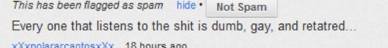 Stupid YouTube Comments Retarded