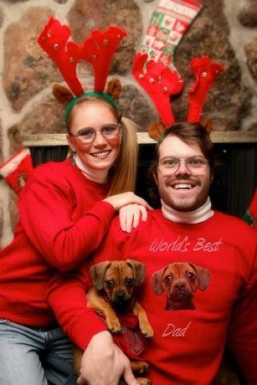 Awkward Christmas Pics Glasses