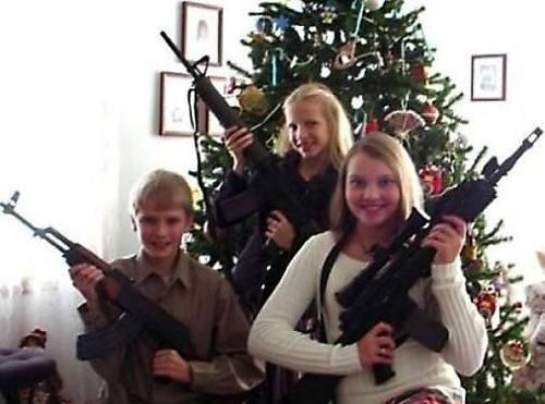 Christmas Photos Guns