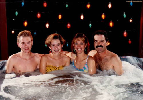 Awkward Christmas Photographs Hot Tub