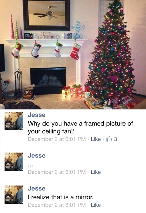 Ceiling Fan Facebook Picture Fail