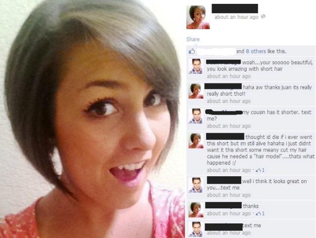 Facebook Flirt Fail