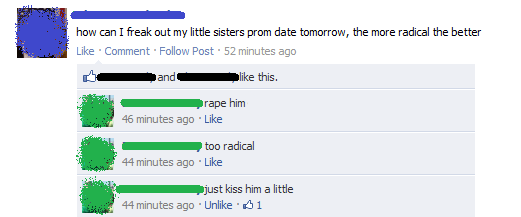 funniest-facebook-posts-2012-freak-out-prom-date