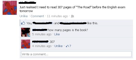 funniest-facebook-posts-2012-the-road