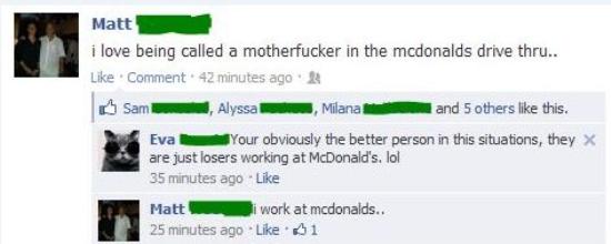 funniest-facebook-posts-2012-work-mcdonalds