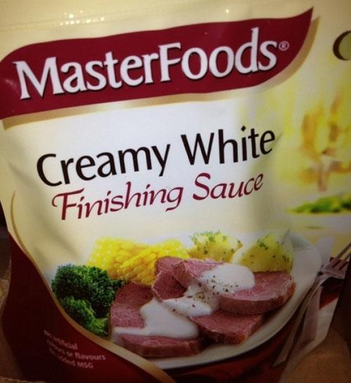 Creamy Finishing Sauce