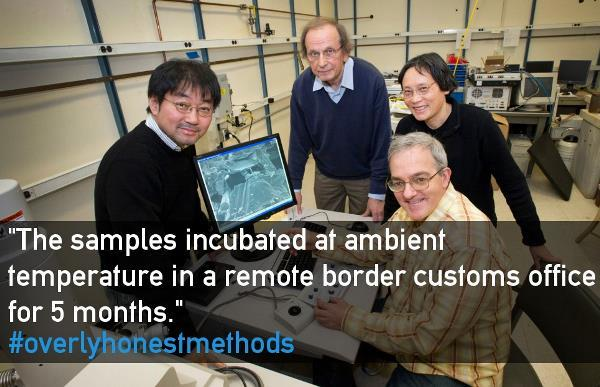 Samples Incubate At A Border