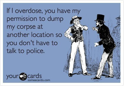 Someecards Drinking Overdose