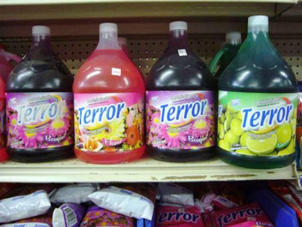 Terrible Food Names Terror