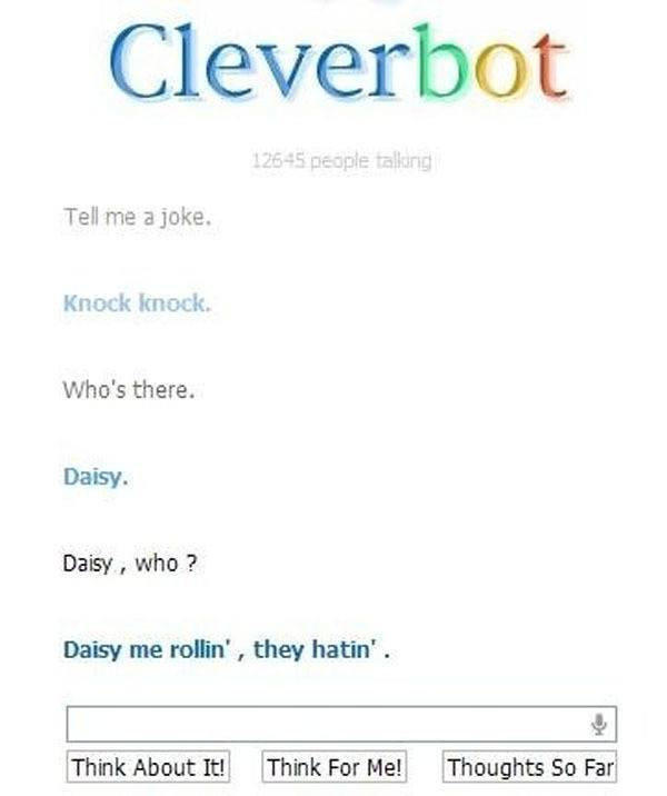 Best Of Cleverbot Tells Bad Joke