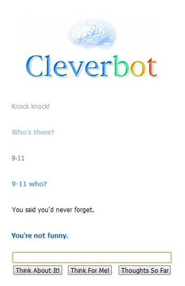 Cleverbot-doesnt-appreciate-your-dark-humor