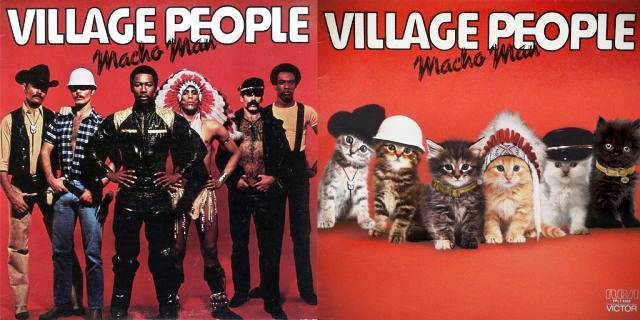 Kitten Covers Village People