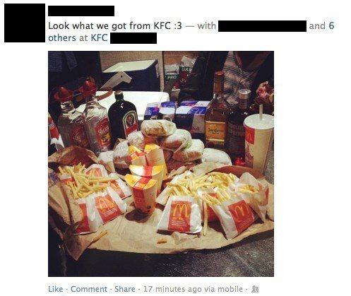 awkward-facebook-pictures-kfc-mcdonalds