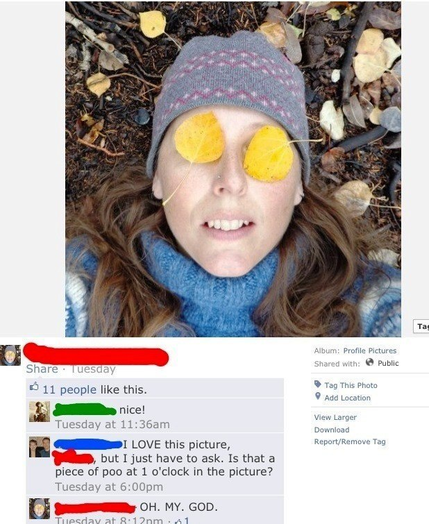Awkward Funny Facebook Pictures