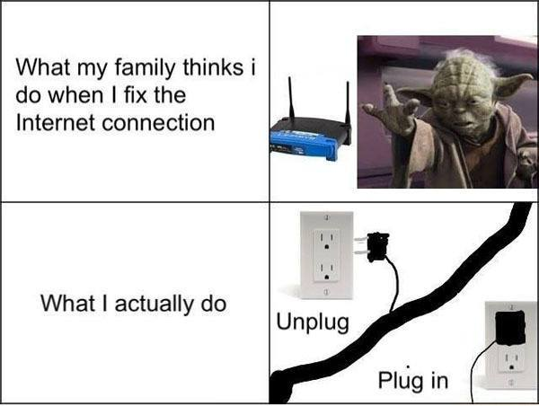 Fixing Internet For Family