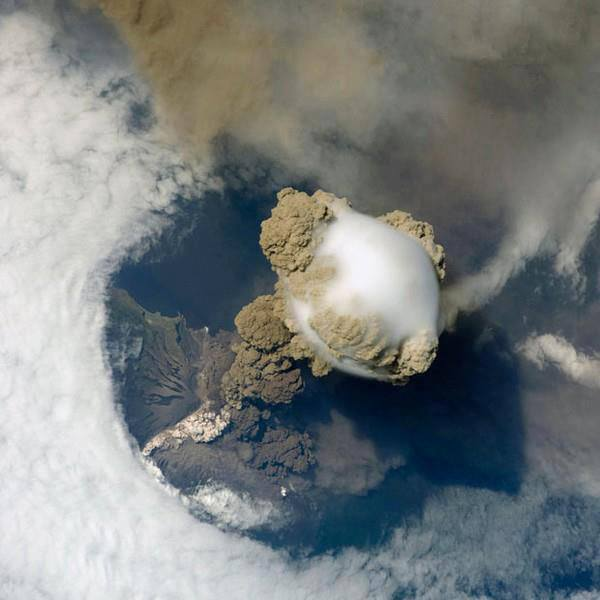 Volcano From Outer Space
