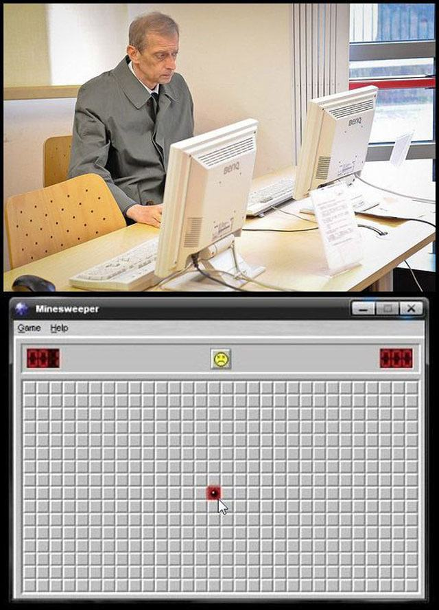 Bad Luck In Minesweeper