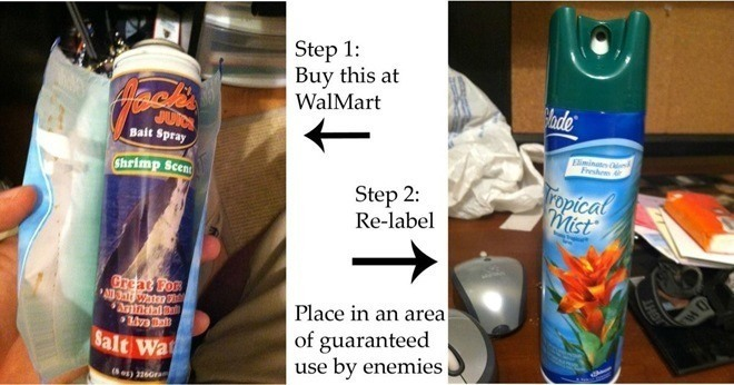 Shrimp Air Freshener Practical Joke