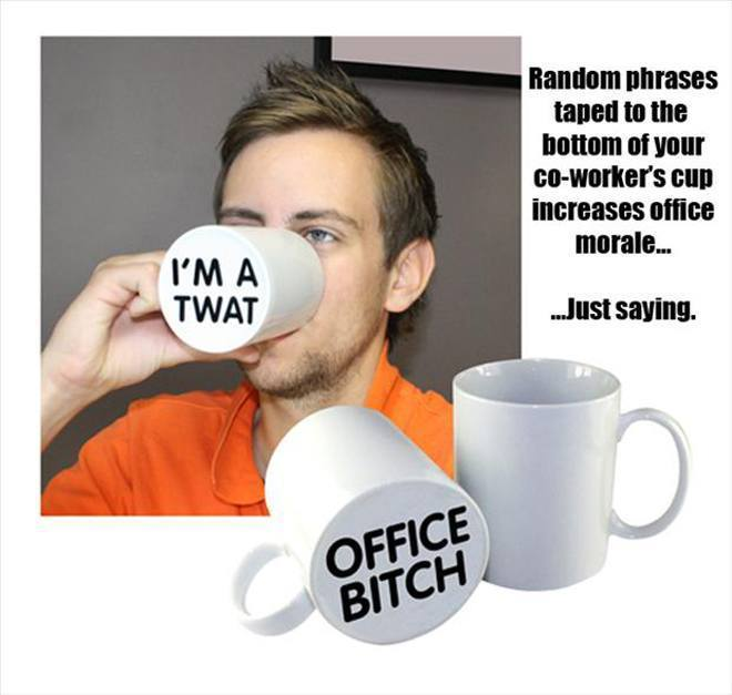 No Mug Is Safe