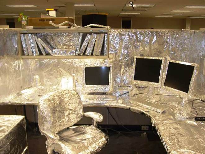 Prank Your Friends With Tinfoil