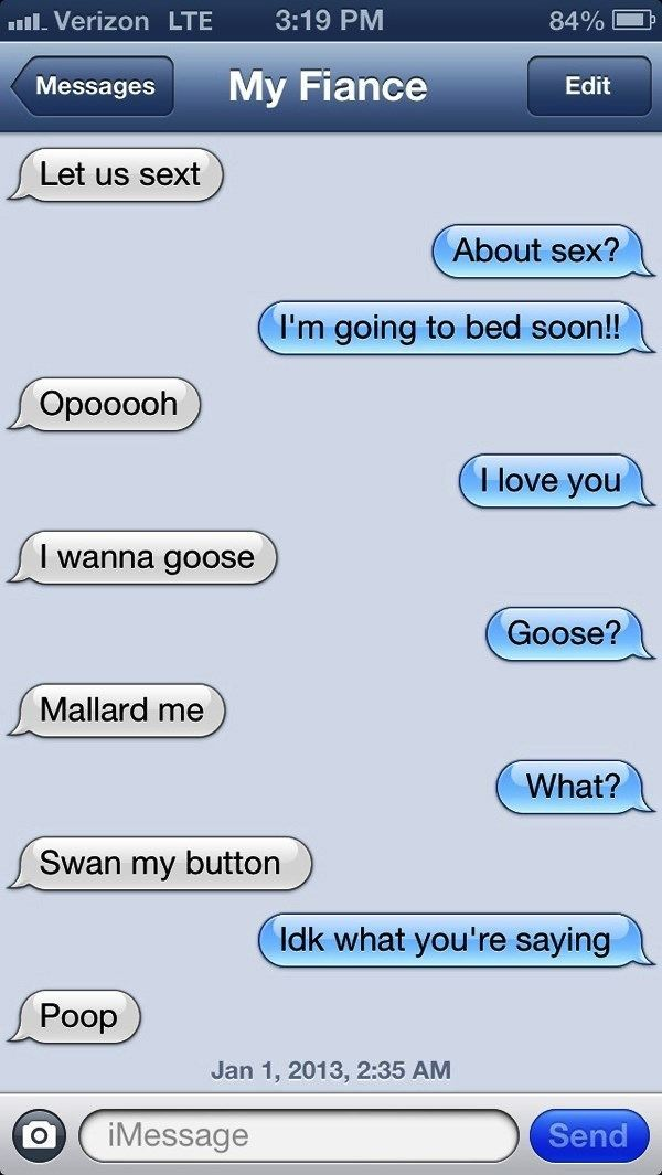 Drunk Texting The Fiance