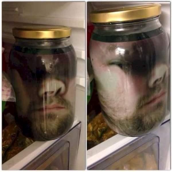 Face In Jar Practical Joke