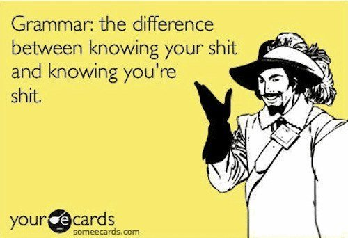 hilarious-someecards-grammer-knowing-your-shit