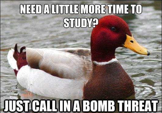 malicious-advice-mallard-more-time-to-study