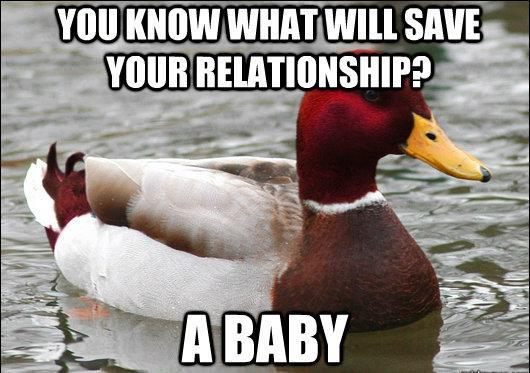 Save Relationship With A Baby