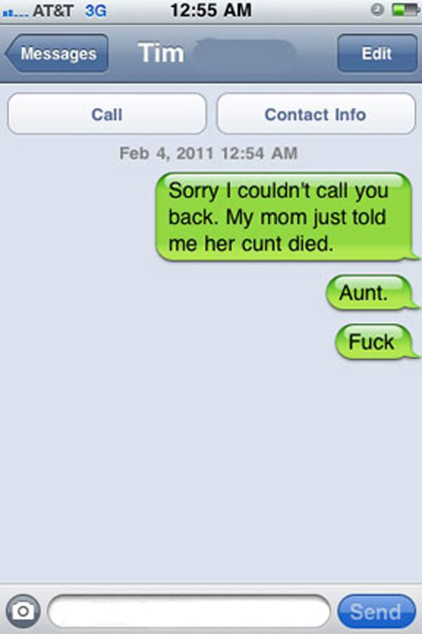 Her Cunt Died
