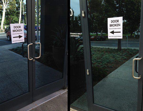 No Doors Work Prank