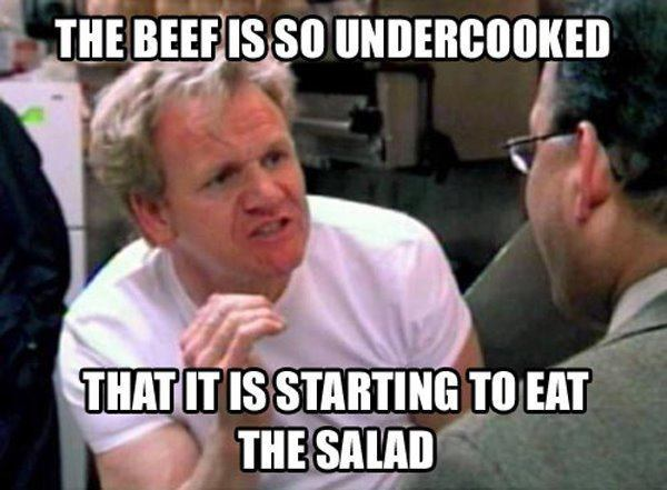 Chef Gordon Ramsay Memes So Undercooked