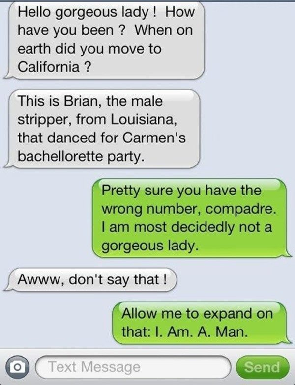 funniest wrong number texts carmen