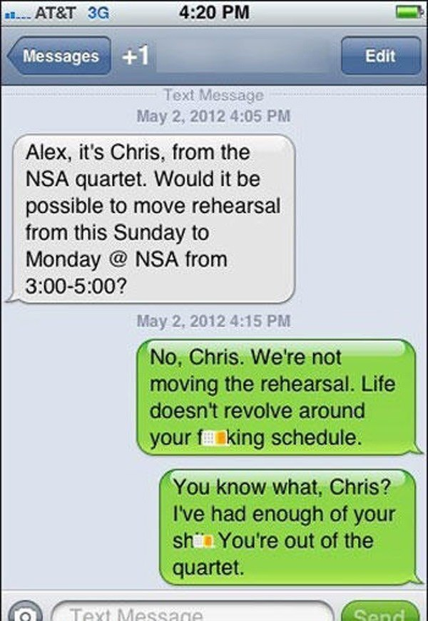 funniest wrong number texts chris