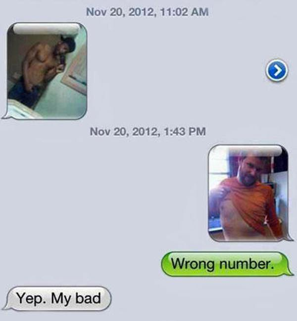 Wrong Number Sext