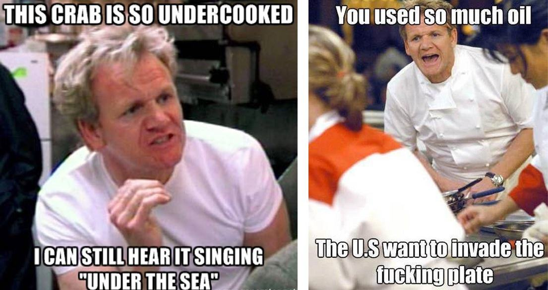gordon ramsay memes the best chef ramsay memes that capture his endless talent for insults,